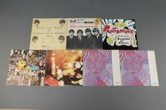 """Lot 345b, Eight official Beatles Fan Club Christmas records comprising 7 7"""" flexi discs and 1 LP consisting of nos. 1 (1963) 2 (1964), 4 (1966), 5 (1967), 6 x 2 (1968)  and 7 (1969) and the 1970 vinyl Christmas/ Compilation LP est £200-300"""