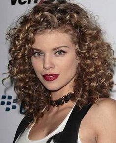 Various Models Natural Curly Hairstyles: Medium Length Naturally Curly Hairstyles Hipsterwall ~ frauenfrisur.com Hairstyles Inspiratin