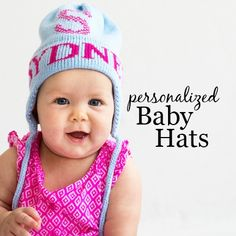 Winter Baby Hats - w