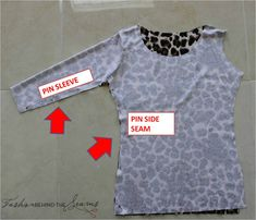 pin ning the sleeves the easy way from Fashion behind the seams