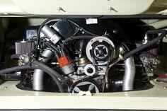 1964 Volkswagen Camper 21 Window Samba Engine Bay