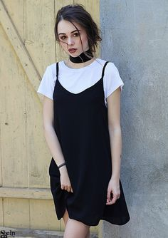 Ideas clothes cute outfits casual for 2019 Dresses For Teens, Outfits For Teens, Trendy Outfits, Summer Outfits, Cute Outfits, 90s Fashion, Korean Fashion, Fashion Dresses, Moda Vintage