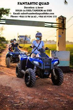 12 893 447 / + 855 97 67 01 777 Located in Siem Reap, Cambodia Quad Bike offers a unique and fun way to explore Cambodian countryside. Great variety from 1 hour rides to full day tours - an opportunity to see real life of the Khmer Kingdom Quad Bike, Siem Reap, Day Tours, Small Groups, Corporate Events, Countryside, Real Life, Monster Trucks, Old Things
