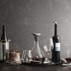 """Mit dem Weinthermometer """"Wine"""" von Georg Jensen wird der Wein immer die richtige Temperatur haben."""
