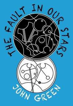 TFIOS cover with circular Gallifreyan thought I should pin it Cuz my friend wants me to read it
