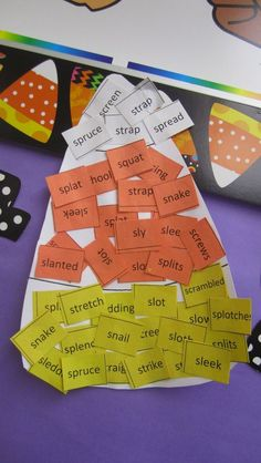 Speech Therapy | Craftivity | Candy Corn Articulation