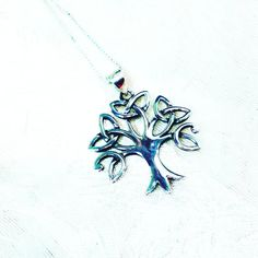 Celtic Tree of Life Necklace Tree of Love by NorthCoastCottage