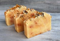 Lemon and Lavender Triple Butter Soap with Shea by NaturisticBath