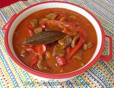 The Way I Cook: Lamb & Red Pepper Stew