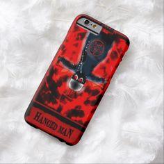 The Hanged Man Tarot Card iPhone 6 Case by Wraithe Designs. Strange Wonders Tarot Deck.