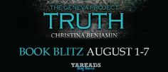 Archaeolibrarian - I dig good books!: BOOK BLITZ The Geneva Project - Truth by Christina...