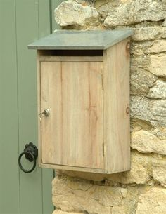 This Wooden Post box has been carefully crafted from Spruce, complete with a zinc top, a security lock and 2 keys, we've ensured the safety of all your post, whether you're receiving or delivering.