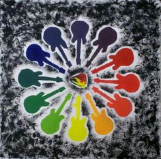 Motif Color Wheel-Art 1: Eric