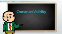 Validity in Assessments: Content, Construct & Predictive Validity