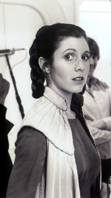 "Star Wars Princess Leia's hair - ""The Empire Strikes Back"" - Cloud City.  I love this hairstyle!  ♥"