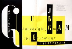 Typeface Albro designed by Alexey Brodovitch, inspired by the signs and symbols of musical annotation