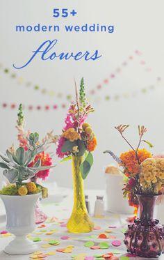 55+ Modern Wedding Flower Arrangement Ideas
