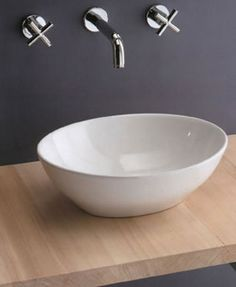 Scarabeo Ovo Bathroom Basins