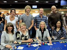 NCIS: Los Angeles Actors (Daniela Ruah, Eric Christian Olsen, Chris O'Donnell and L.L. Cool J) and their mothers