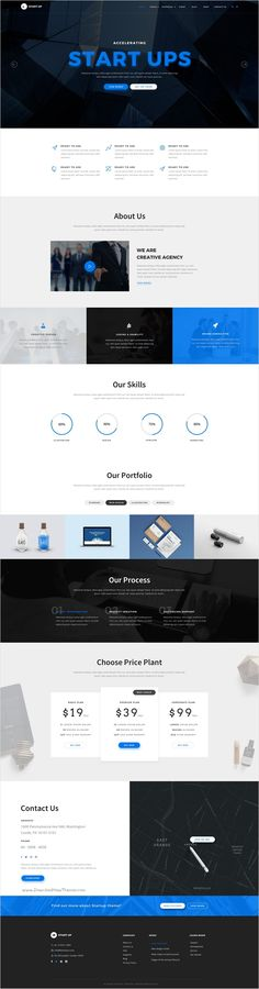 StartUp is a wonderful premium #PSD #template for multipurpose #agency website with 7 unique homepage layouts and 16 organized PSD files download now➩ https://themeforest.net/item/startup-multipurpose-startup-psd-template/18473132?ref=Datasata