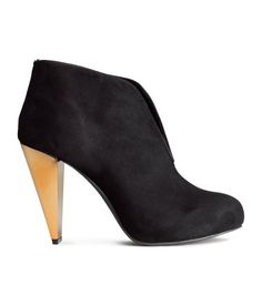 Product Detail | H&M US - interesting heel, may need to add a band to make them stay on