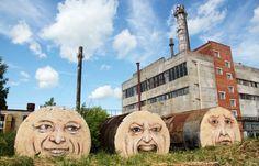 El arte callejero de Nikita Nomerz   Más Que Dibujitos