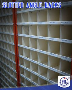 Slotted Angle Racks http://www.metalstoragesystems.com/slotted-angle-racks/