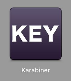 Karabiner, keyboard remapper for OS X