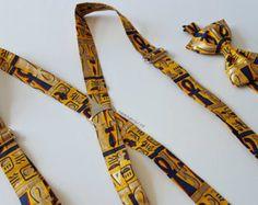 Bowtie Bow Tie Purple African Kente Hairclip Hairband