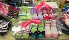 Baby Snoozies socks, Crinkle cloths and sparkly KIDZ Snoozies.