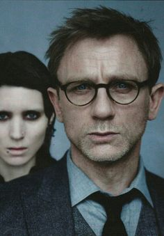 (2011) 'The Girl With The Dragon Tattoo' starring Daniel Craig as financial reporter Mikael Blomkvist.