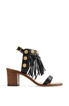 Want this fringed beauty | Sandal by Valentino