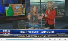 Countless beauty fixes with baking soda! Who knew?