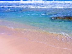 Ocean side of Stocking Island, across the harbor from Great Exuma, Bahamas ✯ ωнιмѕу ѕαη∂у