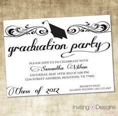 Image Result For Free Printable Graduation Invitations College Ideas Caps