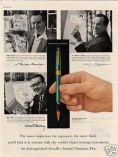 Sheaffer Snorkel Fountain Pen (1958)