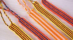 SALE Handwoven Friendship Thread Bracelets set 5 by TheFairLine