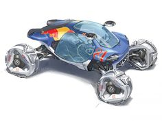 futuristic car, concept art