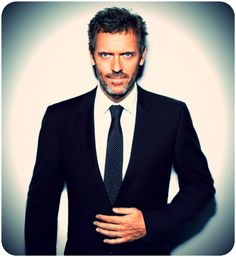 All the ladies can have that guy named Channing Tatum. I want this man. Love me some Hugh Laurie!