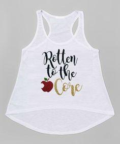 Rotten to the Core Glitter Shirt - Descendants Shirt - Girls Birthday Shirt by TutuSpoiledBoutique on Etsy https://www.etsy.com/listing/385558224/rotten-to-the-core-glitter-shirt