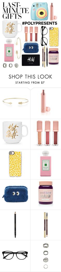 """""""#PolyPresents: Last-Minute Gifts"""" by isabellllee ❤ liked on Polyvore featuring mizuki, Polaroid, Jean-Paul Gaultier, Forever 21, Casetify, Jo Malone, Anya Hindmarch, Lime Crime, Gucci and Yves Saint Laurent"""