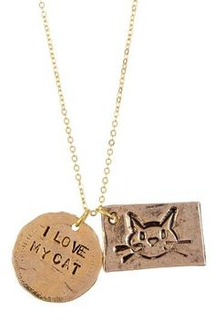 {I Love My Cat Necklace}