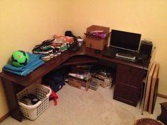 image 1 Office Desk, Corner Desk, Image, Furniture, Home Decor, Homemade Home Decor, Desktop, Desk, Home Furniture