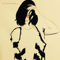 Zuzana Osako for STEFANEL SS 2015