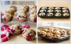 Švestkovo-makové muffiny Cupcakes, Breakfast, Food, Morning Coffee, Cupcake Cakes, Essen, Meals, Yemek, Cup Cakes
