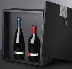 UNA wine bottles by Cibicworkshop