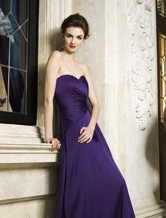 Bridesmaids Dress Style L154067 by Belsoie.  Simple and stunning.
