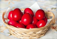 Religion:In the Greek Orthodox religion it is traditional to dye easter eggs red to represent the blood of Jesus Christ. Also easter is always celebrated on a Sunday. Easter Egg Dye, Happy Easter, Vegetables, Breakfast, Holiday, Recipes, Jesus Christ, Period, Greece
