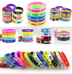 61 Pcs I Love ONE Direction Bracelet Silicone Wristband 1d Signature and Image Printed summersha http://www.amazon.com/dp/B00FYHIE9I/ref=cm_sw_r_pi_dp_Kp7Qsb1S752BGKW6