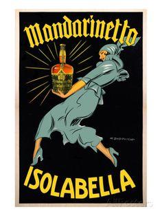 Dudovich-Mandarinetto Isolabella Art Print